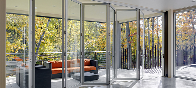 Folding Doors Exterior Interior LaCantina Doors