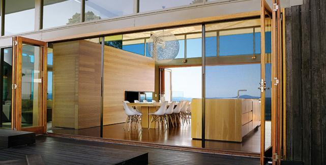 Integrated Amp Concealed Non Pleated Screens Lacantina Doors