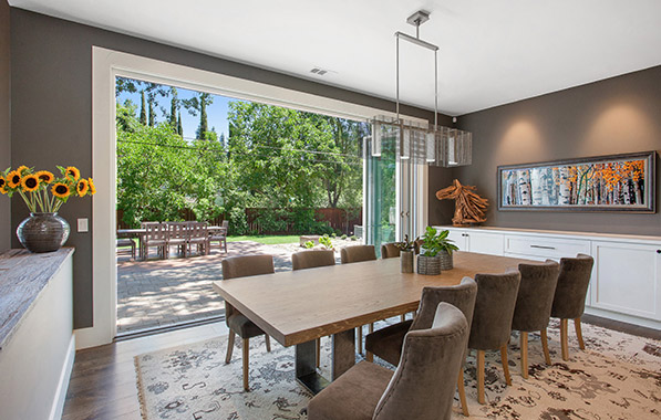 ... Style Ranch Home Redesigned For Outdoor Living Has Captured National  Attention With Its Mix Of Contemporary And Rustic Digs. LMK Interiors Have  Cleverly ...