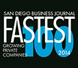 San Diego Business Journal's annual list of San Diego's Fastest Growoing Private Companies