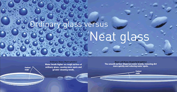 Ordinary Glass vs. Neat Glass