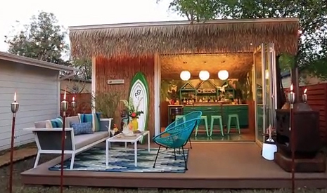 HE SHED SHE SHED: BALLER BACKYARD BARS