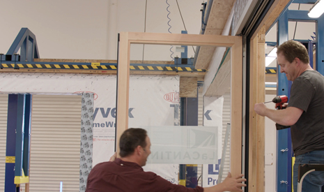 Folding Door Installation (Part 6 of 10)